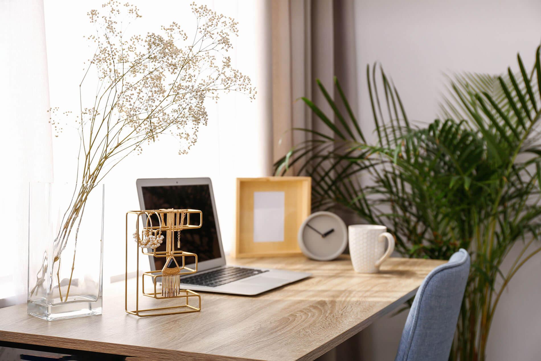 Firany do biura w domu