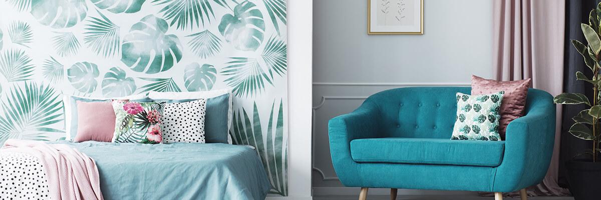 Poduszki dekoracyjne w stylu Jungle