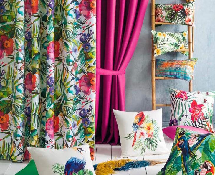 Poduszki dekoracyjne kwiatkowe