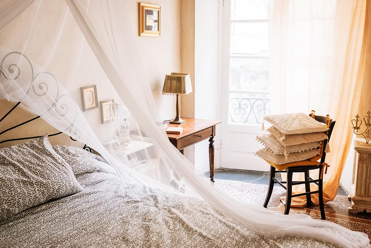 Sypialnia we włoskim stylu
