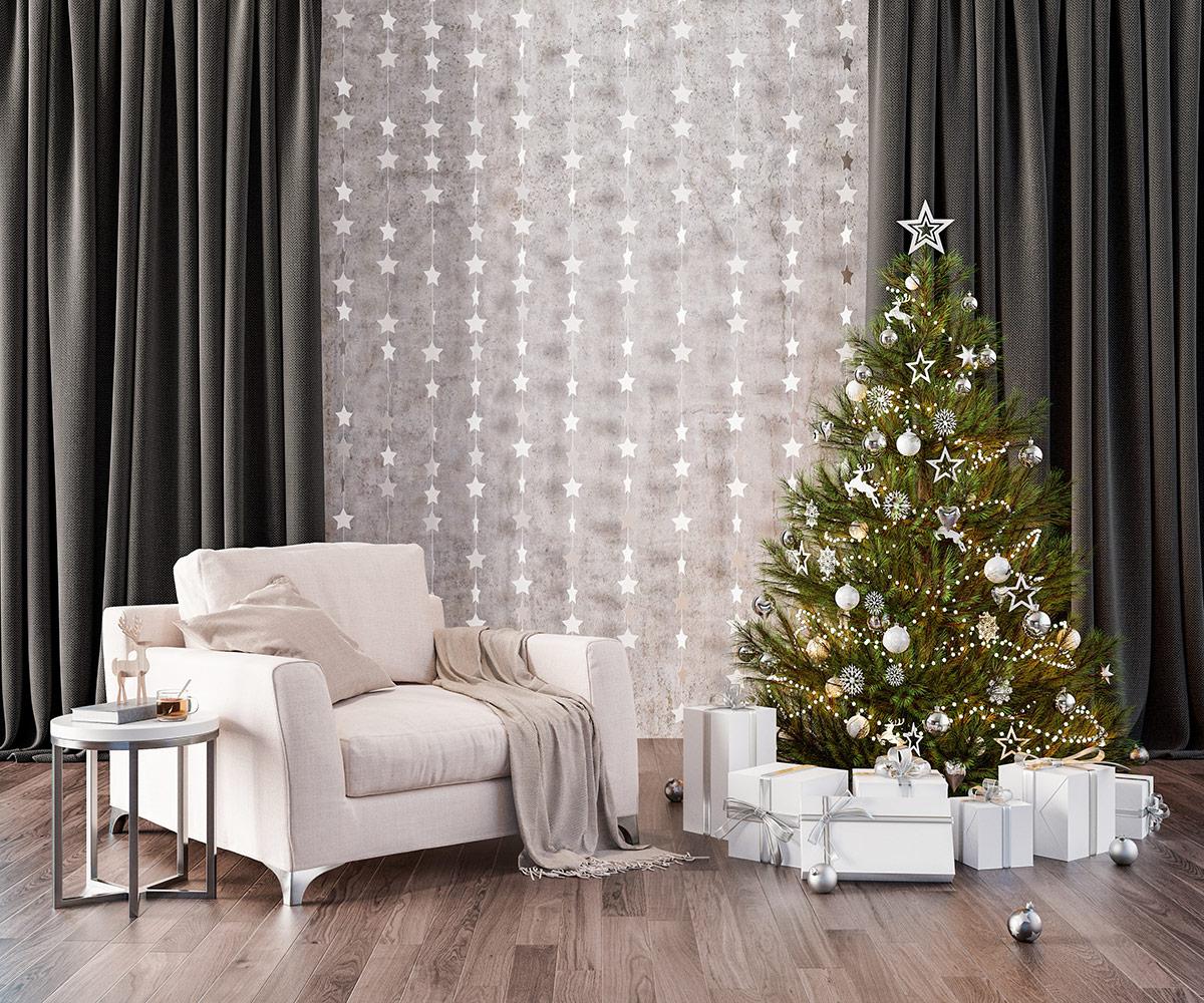 Dekoracja świąteczne na parapet