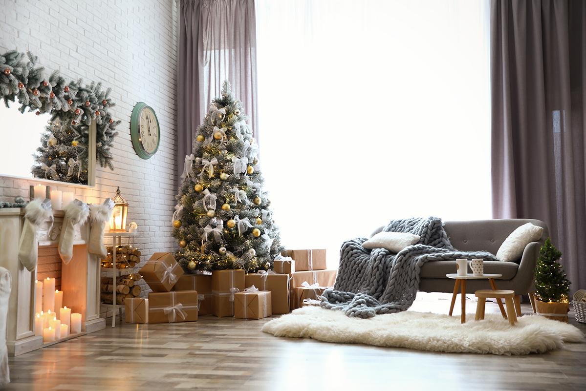 Zasłony Bożonarodzeniowe