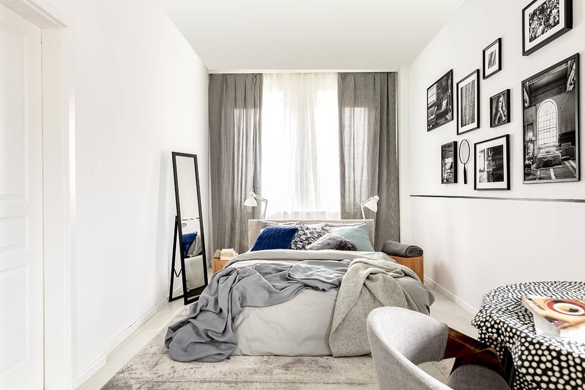 Dekoracja małego mieszkania