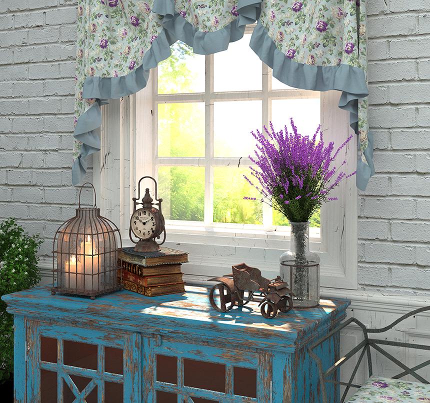 Wnętrze w stylu prowansalskim